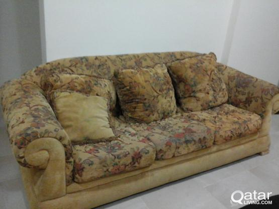 Sofa Set Available for FREE
