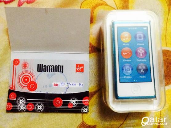 Brand New Ipod Nano 16GB Blue (Unopened)