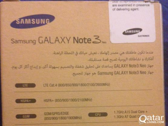 Brand new Samsung Note 3 neo | Qatar Living