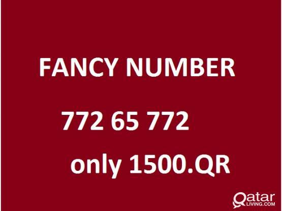 fancy number 772 65 772