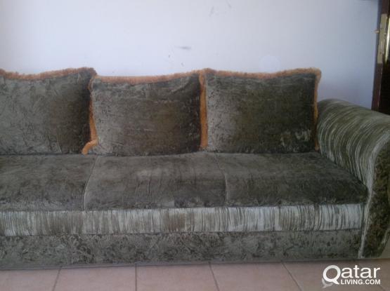 3 Seat Sofa at very low price + Vaccum cleaner