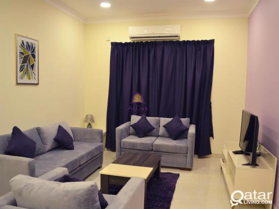 No Agency fees- Furnished 2 bedrooms in Gharafa