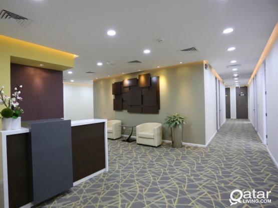 Excellent Office in a Business Center with 2 months FREE