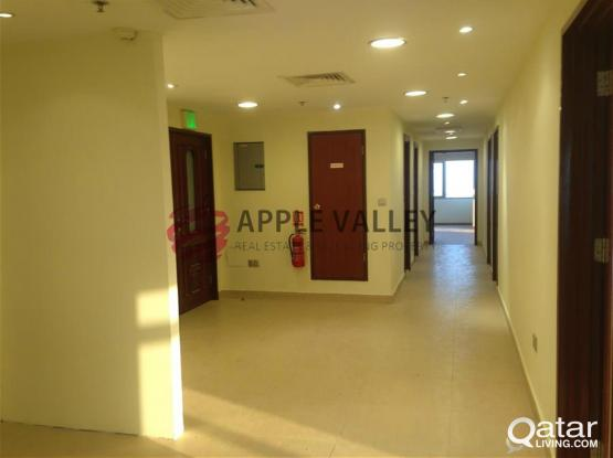 OFFICE SPACE IN AL SADD 250 SQMT ,RENT PRIME LOCATION; 2 MONTH FREE