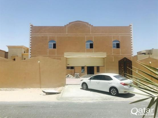 Brand new 1 bhk villa available in ain khaled near
