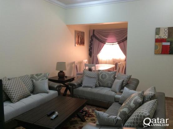 3 bedrooms furnished flat