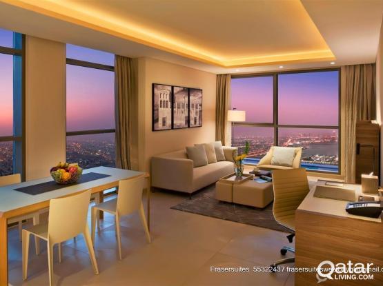 Two  Bedroom Deluxe in Fraser Suites West bay Doha