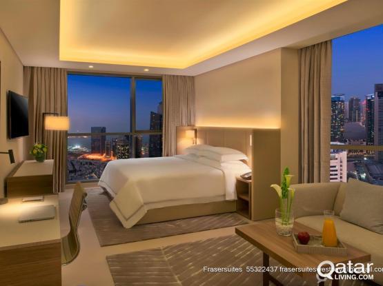 Studio Deluxe in Fraser Suites West Bay Doha