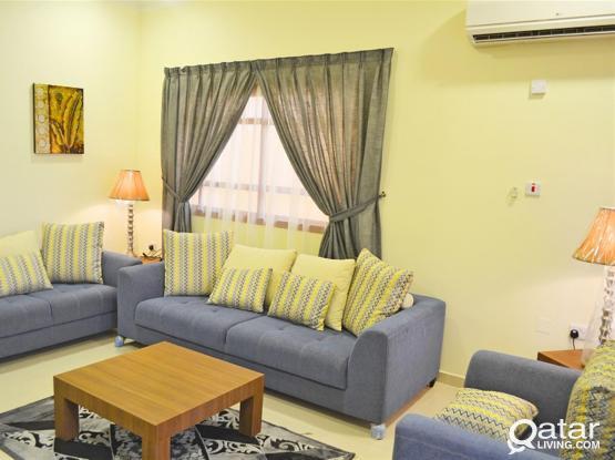 Beautiful 3 Bedrooms Fully Furnished Near Doha Festival City / Ikea - Al kheesa