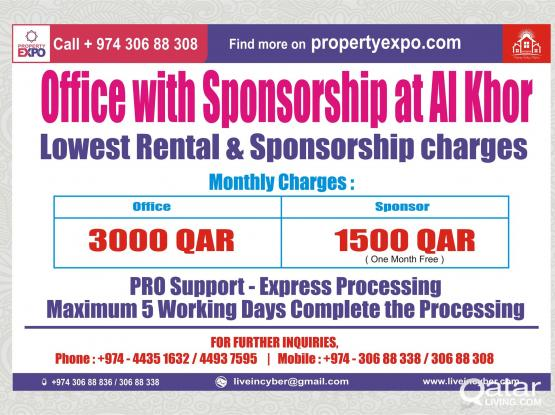 LIC 002_Office with Sponsorship at Al Khor