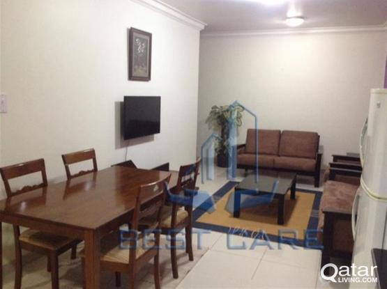 No commission!!! 1bhk fully furnished flat in doha jadeed near B ring- include all bills