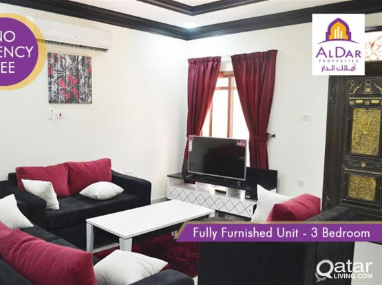 No commission - 3 bedrooms furnished unit in Sakhama