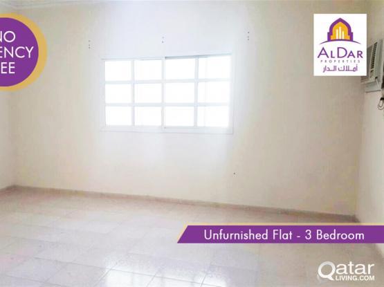 Unfurnished 3 bedrooms flat in Muntazah