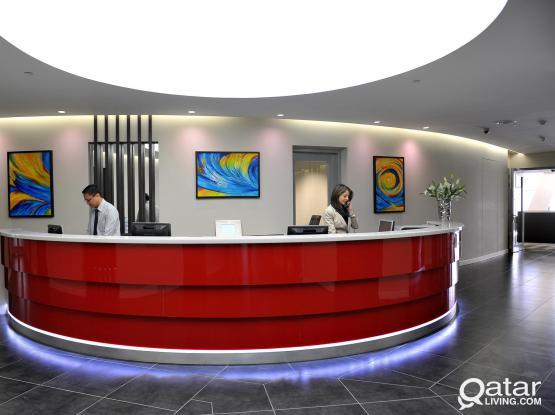 هل تبحث عن مكتب في الخليج الغربي الدوحة؟