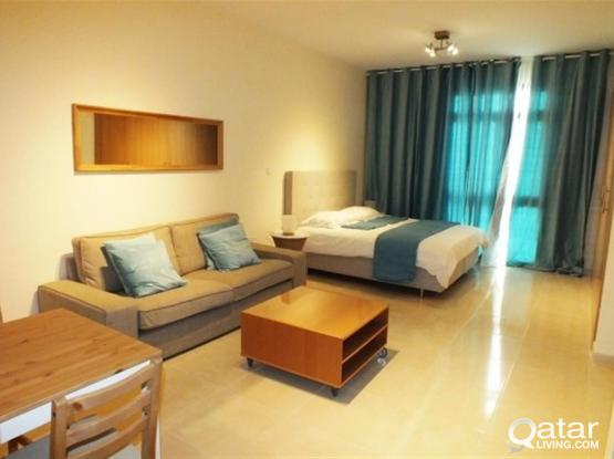 Fully Furnished Studio Apartment For Rent In Lusail City