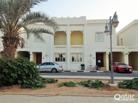 fully furnished 4 bedroom 4 attached bathroom compound villa AT GHARRAFA