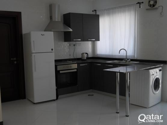 Brand new 1BHK  semi furnished apartment in Umm Ghwalina,