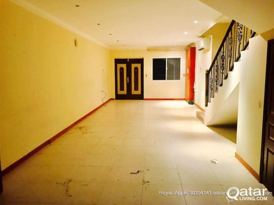 Ladies Staff/ Family  6 Bedroom 5 Bathroom Semifurnished Compound Villa in Ain Khalid  Beh