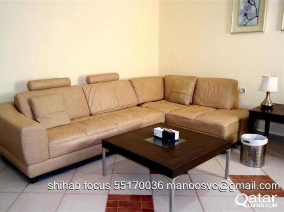 Nice & spacious 1 bedroom fully furnished apartment in bin omran including w/e/ WiFi