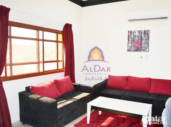 No Commission-Utilities/Wifi Included - Stunning F/F 1BHK-12 Min From Doha Festival City