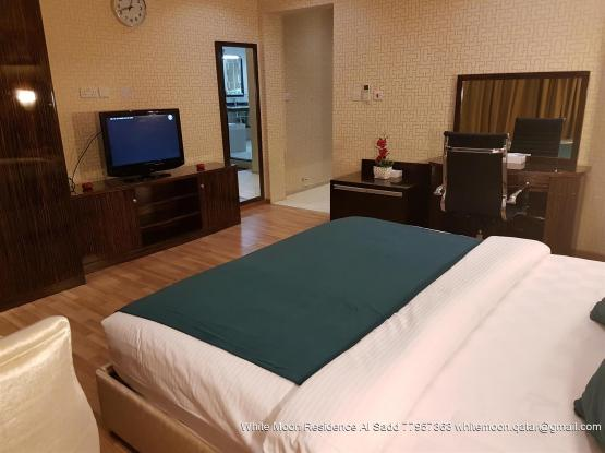 Fully Furnished  Standard Double Bed Room