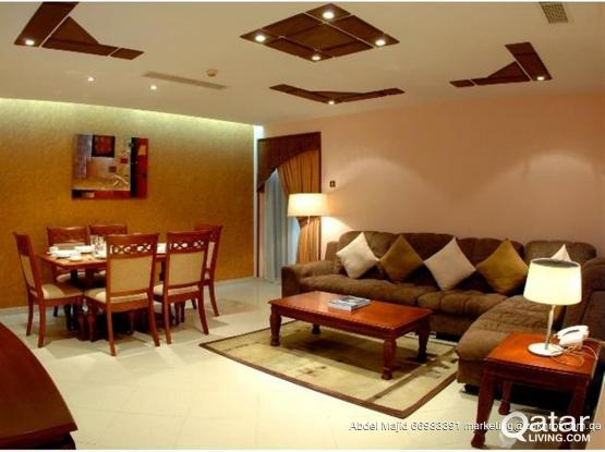 Luxury fully furnished 3 bedrooms in Bin Mahmoud with Indoor and Outdoor Pool