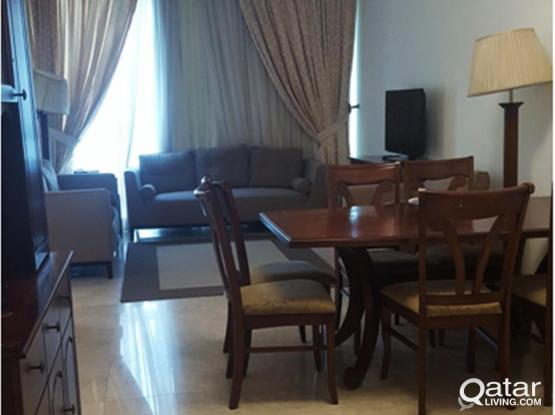 FULLY FURNISHED 2 BEDROOMS APARTMENT AT ZIGZAG TOWER B - FOR RENT