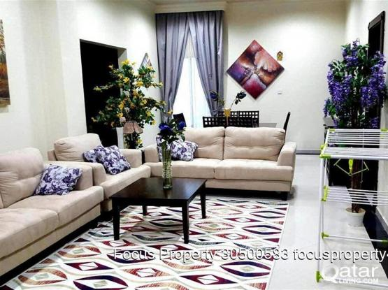 very nice ....2 bhk fully furnished apartment including all bills at wakrah