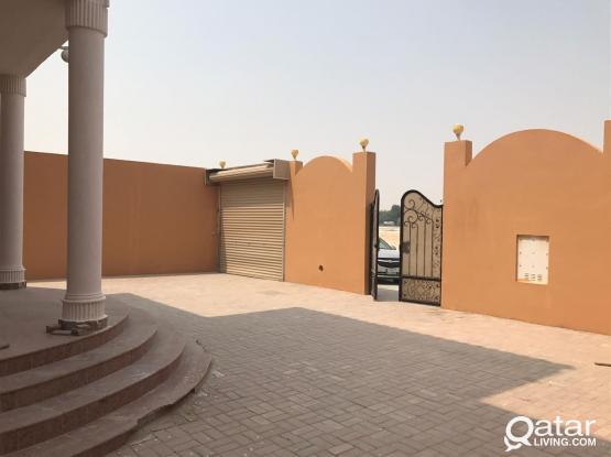 9 bedrooms -Stand alone villa for company staff.