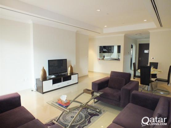 Fully Furnished One BR Apartment For Rent In Pearl