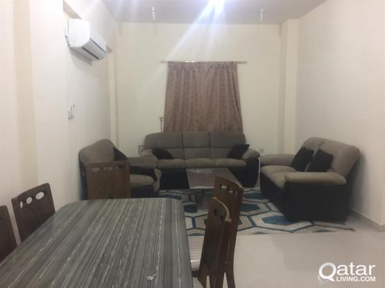 fully furnished 2 bhk apartment available at al kh