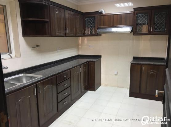 NO COMMISSION Brand New Very Spacious 3 BHK proper flat apartments available in new building in Wakrah behind Baladiya opposite Souq Waqif wakrah