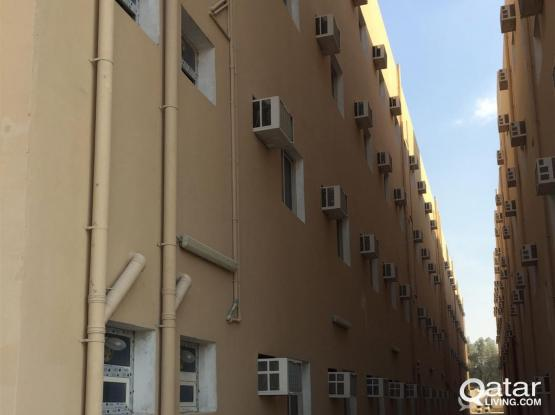 66 Rooms labour camp for rent  in industrial area