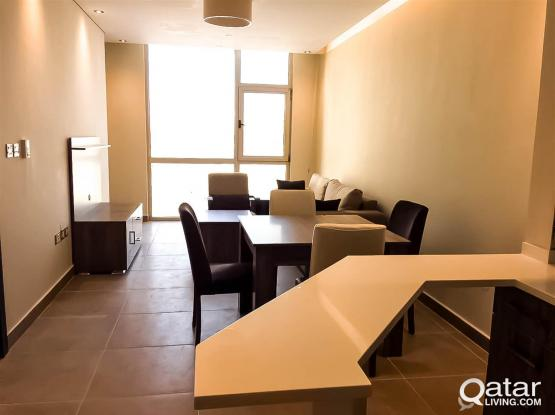 Brand New  Fully-Furnished 1-Bedroom Flat in Al Sadd