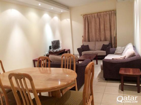 Fully Furnished 3-Bedrooms Flat in Al Sadd