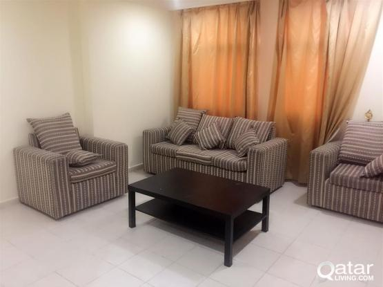 PROMOTION: [1-MONTH FREE]  Fully-Furnished 1-Bedroom Apartment In Fereej Abdel Aziz