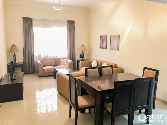 Fully-Furnished 3-Bedroom Apartment in Al Sadd