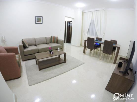Brand New Fully-Furnished 1 Bedroom Flat in Doha Jadeed