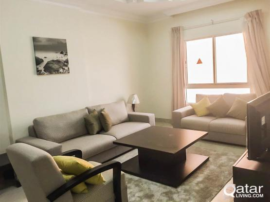 [1-MONTH FREE] Brand New Fully-Furnished  2-Bedroom Apartment At Al Sadd