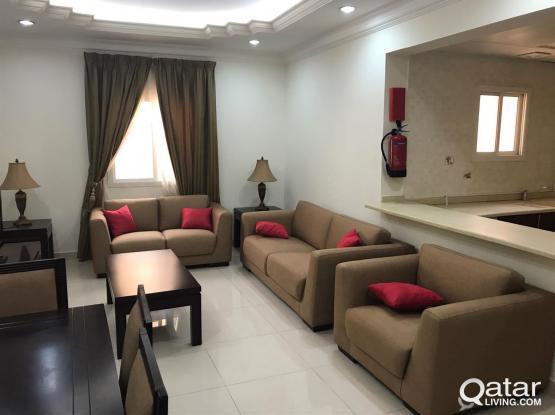 Fully Furnished, 1-Bedroom Flat in Al Sadd