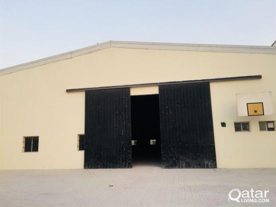 Warehouse Available for Rent in Industrial Area