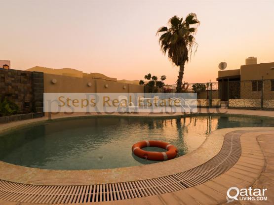 Big 4 Bedroom Al Waab Compound Villa For Rent