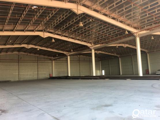BRAND NEW 5000S.QM STORE  FOR RENT IN INDUSTRIAL AREA