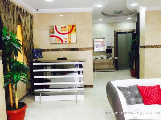 NO COMMISSION - 2 BEDROOM FULLY FURNISHED SPACIOUS FLATS IN AL SADD - Near Millennium Hote