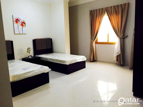 SPACIOUS 2 BHK FULLY FURNISHED  FLATS IN AL SADD - Near Millennium Hotel & Center Point.