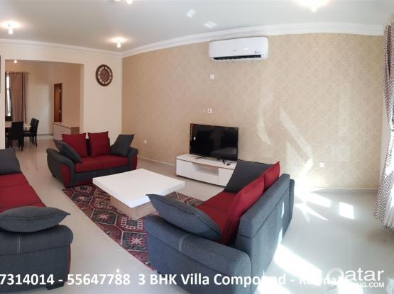 Brand New Furnished  Villa Compound - Rawdat Matar - No Commission