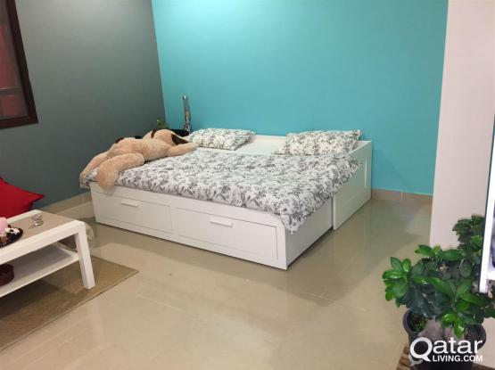 Fully Furnished Excellent Studio-NO Commission