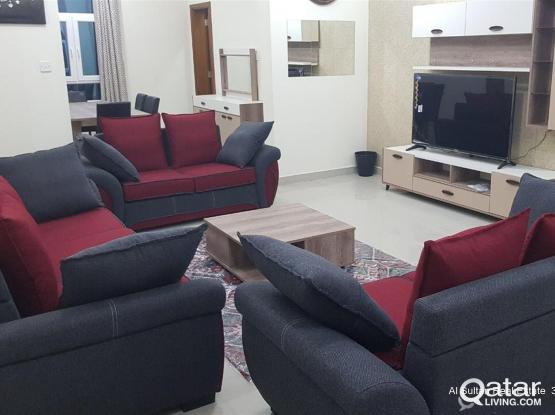 Brand new very spacious 3 BHK fully furnished villa in compound available at thumama old a