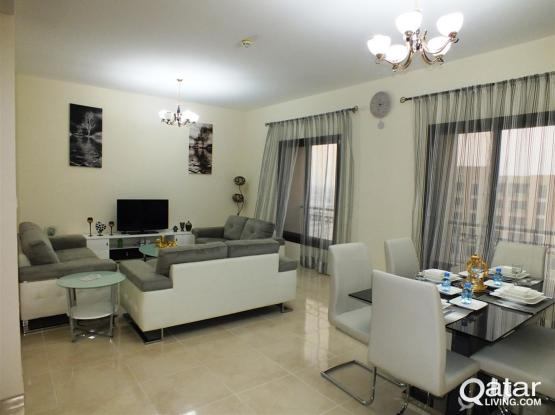 Fully Furnished 2BR Apartment For Rent In Lusail City