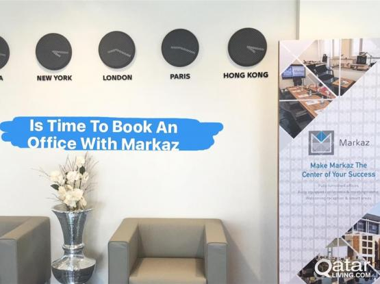 Trade License & Fully Furnished & Serviced Offices at Markaz Business Center